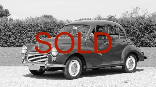 Morris Minor 1000 Saloon