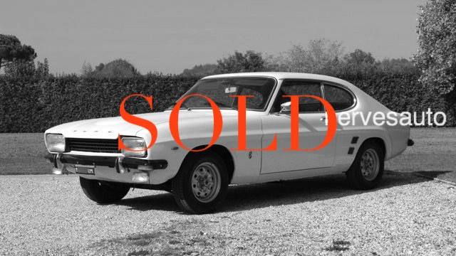 SOLD  Ford Capri MKI GT 1600
