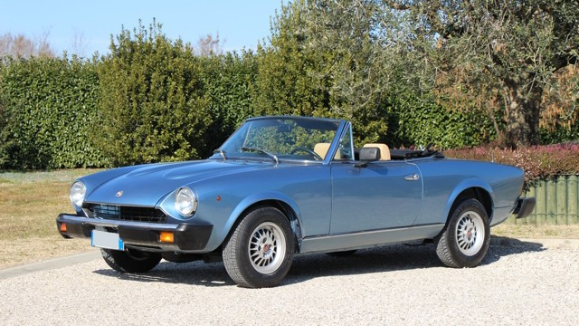 Auto Ricambi FIAT 124 Spider Parts - New and Classic FIAT ...