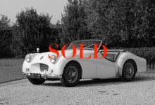 Triumph TR2 long-door
